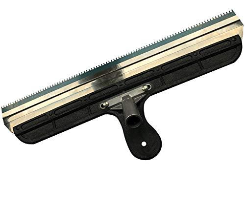 Großflächenrakel - Stehrakel gezahnt mit Steckvorrichtung - Breite: 560 mm - Inklusive zweisetigem Blatt