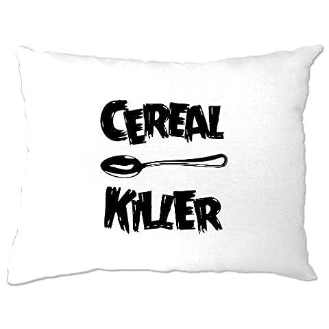 Cereal Killer Löffel Lustige Frühstück Speisen, Humor, Slogan Chef Kissenbezuge