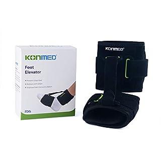 KONMED Adjustable Ankle Brace Support AFO Orthotics Strap Elevator Plantar Fasciitis Foot Cramps Preventing Foot Drop