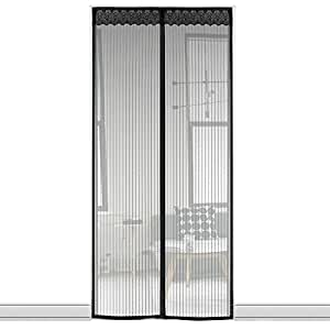 fliegengitter magnet t r insektenschutz der magnetvorhang fliegenvorhang 90 x 210 cm f r. Black Bedroom Furniture Sets. Home Design Ideas