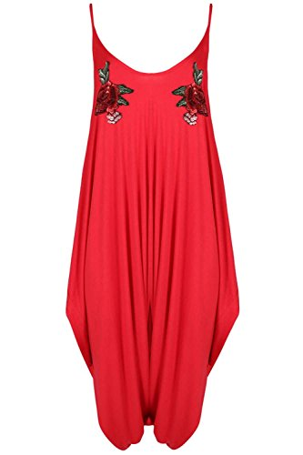 Fashion Star Damen Jumpsuit * Rot