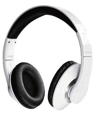 MIX-STYLE casque audio NOVEL WHITE blanc