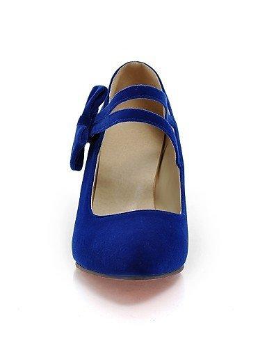 ShangYi gyht Scarpe Donna-Ballerine-Tempo libero / Ufficio e lavoro / Casual / Sportivo / Serata e festa / Scarpe comode-Punta arrotondata-Piatto- Blue