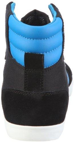 hummel SLIMMER STADIL HIGH CANVAS 63-111-2113, Baskets mode mixte adulte Noir-TR-G1-71