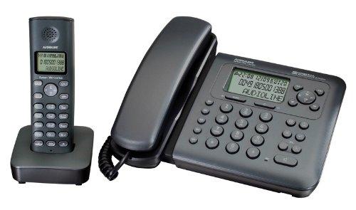 Audioline Splash 380 Combo Schnurlostelefon mit Anrufbeantworter (DECT)