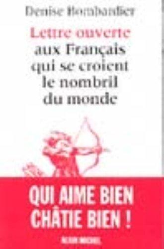 Lettre ouverte aux Français qui se croi...