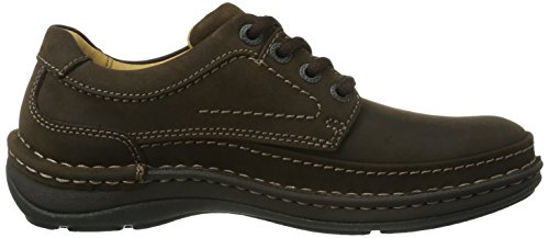 Clarks Nature Three, Chaussures de ville homme Marron (Ebony Oily)