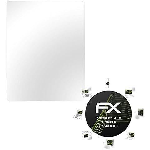 atFoliX Protettore Schermo Vodafone VPA Compact III Pellicola a specchio