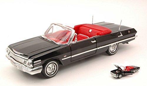 welly-we2434bk-chevrolet-impala-open-1963-black-124-modellino-die-cast-model