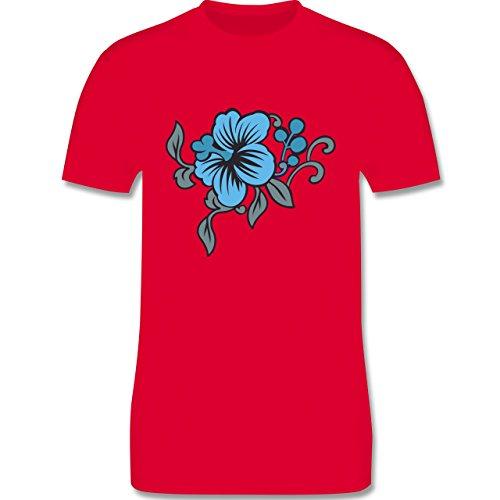 Blumen & Pflanzen - Blumen - Herren Premium T-Shirt Rot