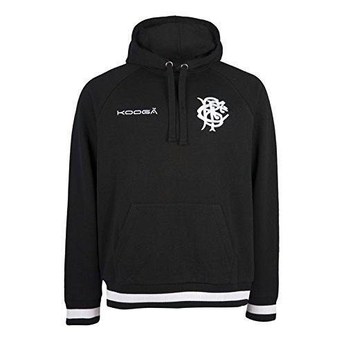 Barbarians 2016/17 Players Fleece Hooded Rugby Sweat - size M (Shirts Kooga Rugby)