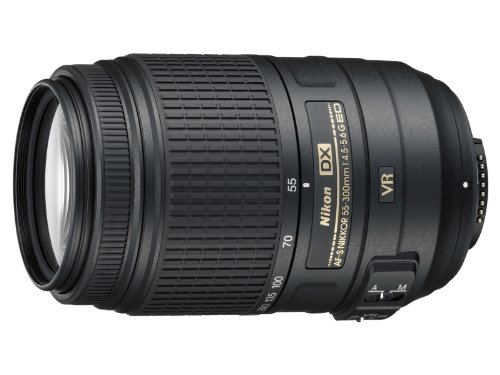Nikon Obiettivo Nikkor AF-S DX 55-300 mm f/4.5-5.6G ED...