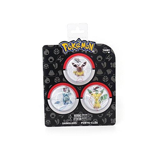 Pokémon T19512N1personaggi Danglers at random Eevee Evolution figure (set da 3)