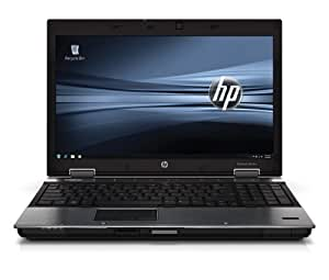 "HP Station de travail mobile HP EliteBook 8540w (Energy Star) Ordinateur Portable 15.6 "" 2660 MHz 4096 Mo NVIDIA Quadro FX 880M Windows 7 Professional Argent"