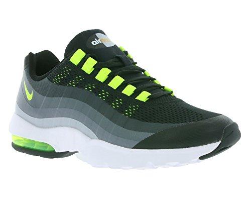 Nike Donna WMNS Air Max 95 Ultra Scarpe sportive black volt antracite grigio scuro 002