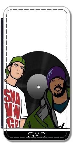 Custodia in PU Pelle per Sony Xperia Z5 Compact - Rap Musica Pop Jazz by WonderfulDreamPicture
