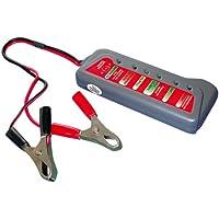 Eufab 16599 - Comprobador de batería