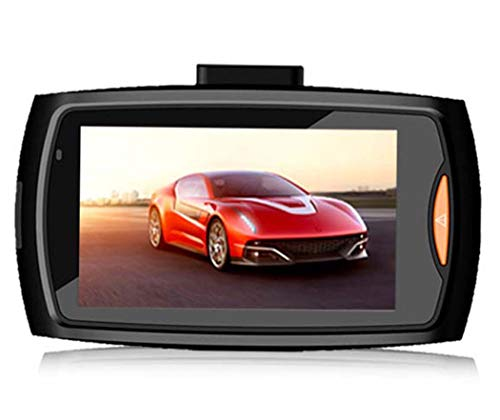 SIPENGFEI Autokamera 2,7-Zoll-Full HD 1080P 170 ° Weitwinkel-Auto-DVR-Kamera, Hintere Linse 140 ° Weitwinkel 8MP, Mit Loop-Aufnahme 8 Dash Kit