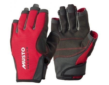 Musto Essential Segel-Handschuhe, Rot, GrößeXL