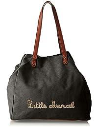 Little Marcel Harmony, Sac porté épaule - Noir (Black), Taille Unique