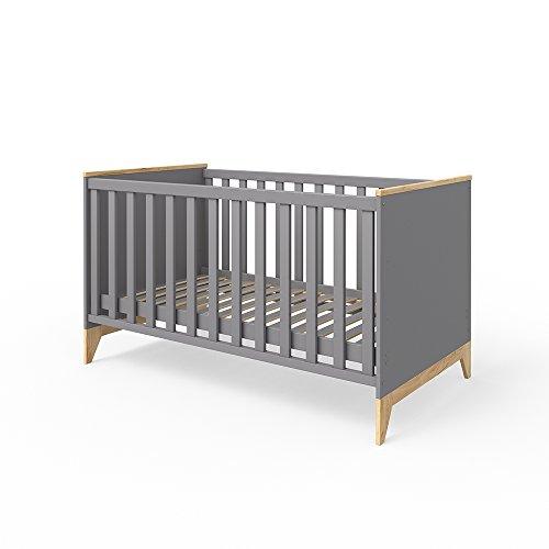 Vicco Babybett Malia Kinderbett Gitterbett Beistellbett Juniorbett Jugendbett Bett 140x70 cm