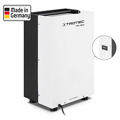 TROTEC Luftentfeuchter TTK 105 S mit Betriebsstundenzähler (max. 30 L/Tag) Empfohlene Raumgröße bis 45 m²/112,5m³