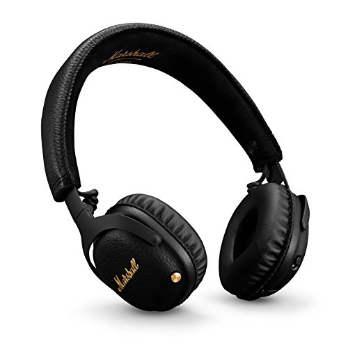 Marshall mid a.n.c. cuffie active noise cancelling bluetooth headphones - nero