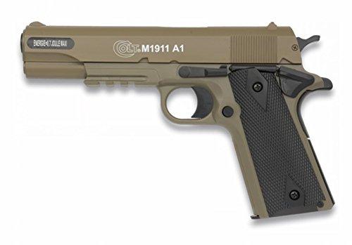 COLT 1911 METAL  VELOCIDAD: 105M/S - 345 FPS