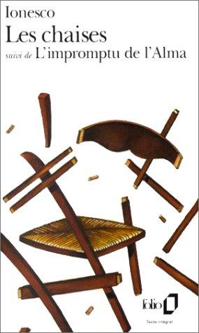Chaise (Les Chaises (Folio))