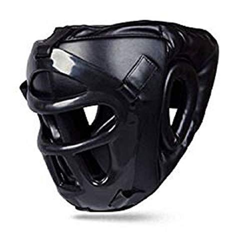 BOOM Pro piel boxeo protector de cabeza con máscara extraíble Kick Boxing MMA UFC artes marciales...