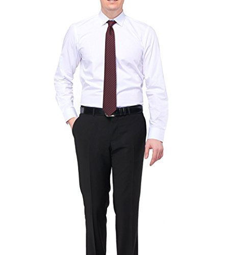 Varetta chemise pour homme coupe slim blanc design sportif taille xL Blanc - blanc