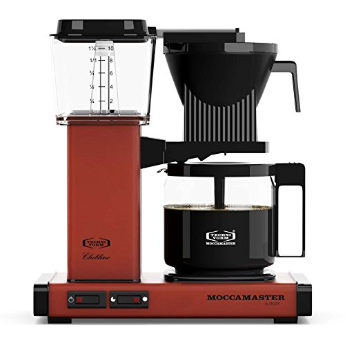 Preisvergleich Produktbild Moccamaster KBG 741 AO Filter Kaffeemaschine Brick Red
