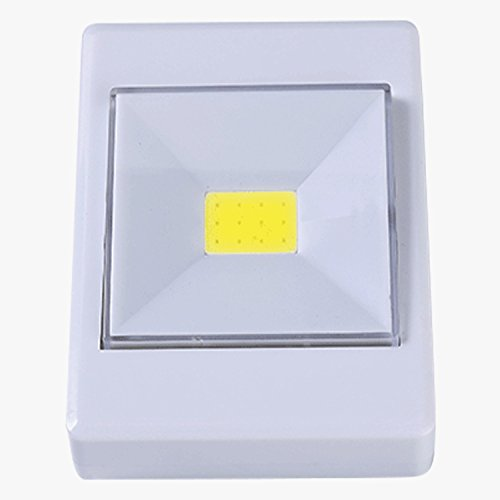 Luz LED Lámpara COB LED con imán Interruptor de luz nocturna de...