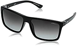 IDEE Polarized Square Mens Sunglasses - (IDS2389C2SG|58|Green Gradient Color)