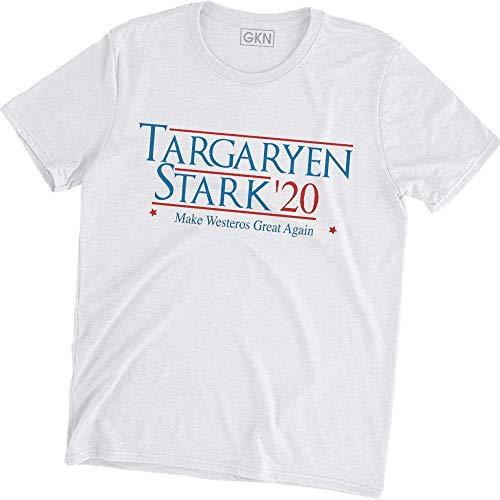 Targaryen Stark '20 Macht Westeros Wieder großartig T-Shirt Game of Thrones, S -