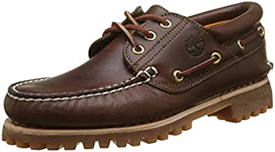 Timberland Men's Icon Three-Eye Classic Shoe Brown 10 2E US