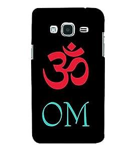 Fiobs Designer Back Case Cover for Samsung Galaxy J3 (6) 2016 :: Samsung Galaxy J3 2016 Duos :: Samsung Galaxy J3 2016 J320F J320A J320P J3109 J320M J320Y (Om Hindu Symbol Rudra)