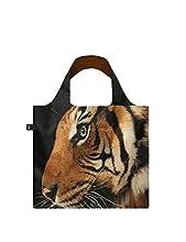 LOQI Borsa Pieghevole National GEOGRAFICS Malayan Tiger Shopping Bag