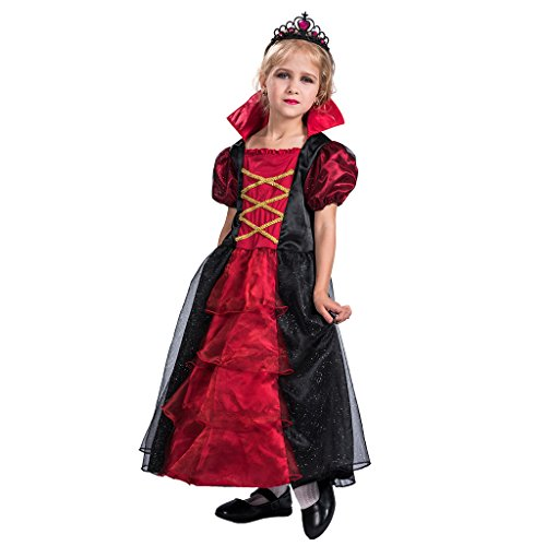 EraSpooky Mädchen Gothic Vampiress Contessa -
