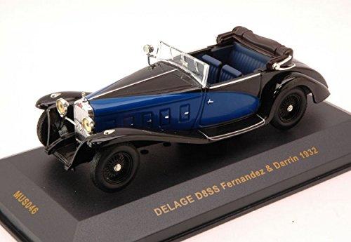 ixo-mus046-delage-d8ss-fernandez-darrin-1932-blue-black-143-die-cast-model