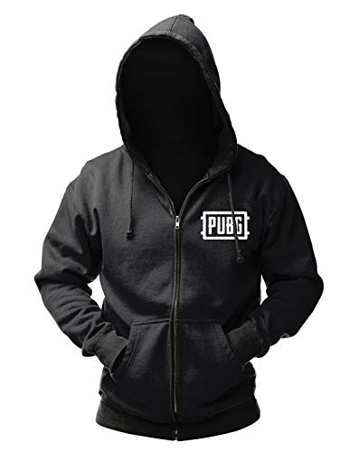 Playerunknown's Battlegrounds Zipper Hoodie Logo S