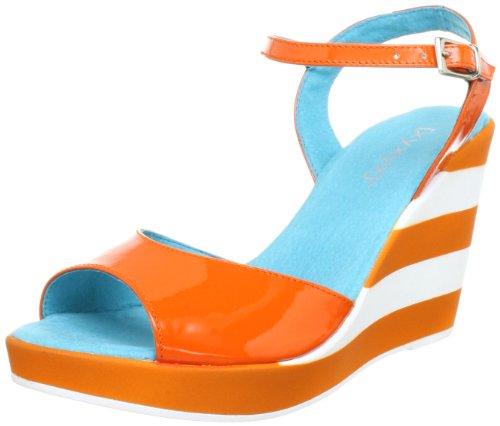 xyxyx XY26001, Sandali donna Arancione (Orange (calendula))