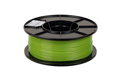 JANBEX PLA (Grün) Filament 1,75 mm 1kg Rolle für 3D Drucker oder Stift in Vakuumverpackung