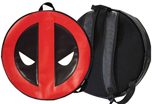 Marvel Sac à Dos Grand Logo Deadpool Rond