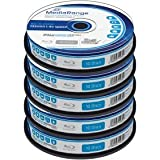Blu-ray Disc Mediarange BD-R 25 GB, 1-4x Speed in Cakebox 50 Stück
