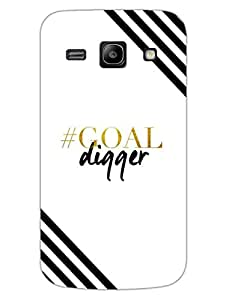 Goal Digger - Designer Printed Hard Back Shell Case Cover for Samsung Core Prime Superior Matte Finish Samsung Core Prime Cover Case