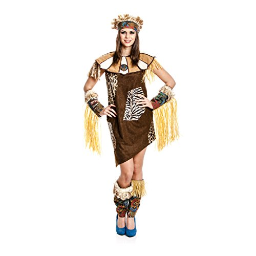 dschungel kostuem damen Kostümplanet Afrikanerin Kostüm Afrika Damen Afrikanerinkostüm Größe 40/42