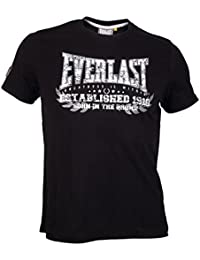 Everlast Heritage T–Born in the Bronx, color negro, tamaño M