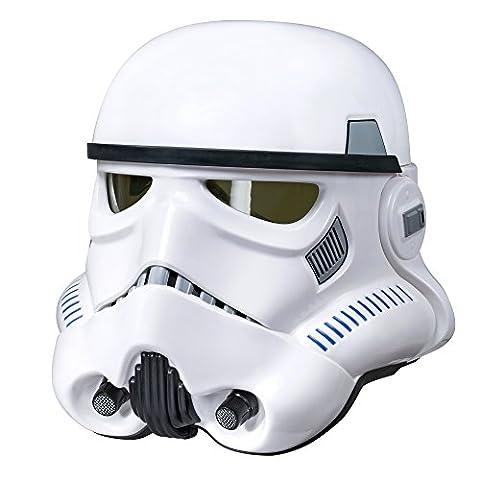 Star Wars Rogue One The Black Series Imperial Stormtrooper voix électronique changeur Casque