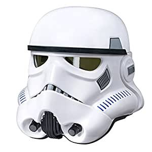 Star Wars Rogue One The Black Series Imperial Stormtrooper Electronic Voice Changer Helmet